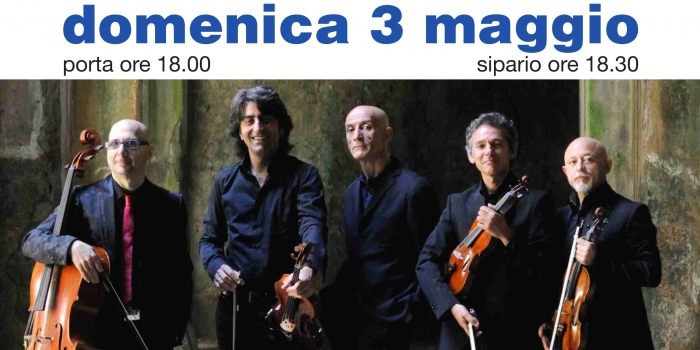 "Peppe Servillo with Solis String Quartet in ""Spassiunatamente"""